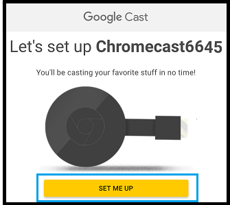 How to Setup Chromecast
