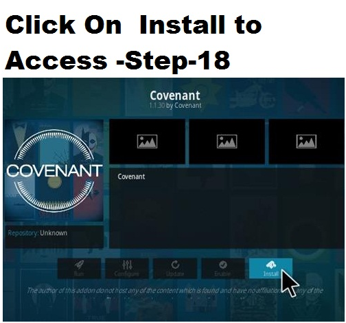 Covenant-Best Kodi Add-ons