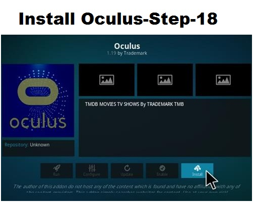 Oculus-Best Kodi Add-ons