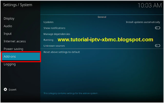 How to Enable Unknown Source Kodi Add-on