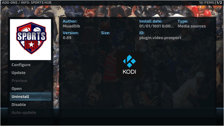 Sports Hub-Best Kodi Add-ons