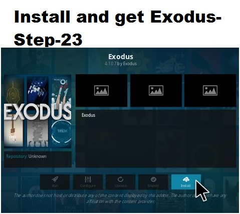 Exodus on Kodi