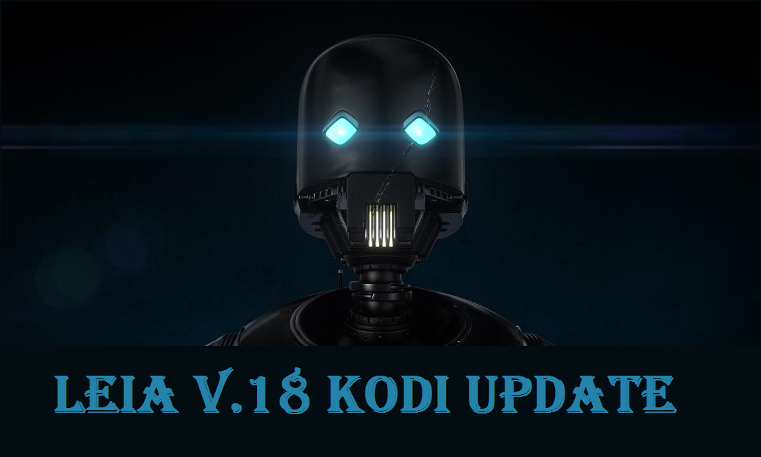 Latest Kodi Update is Leia v18