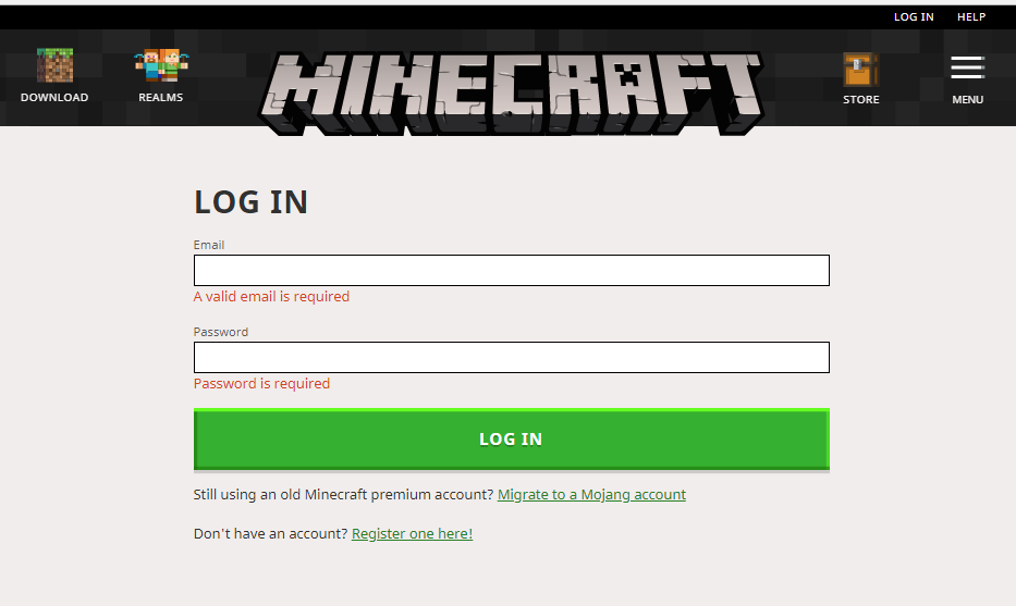 change Minecraft Username